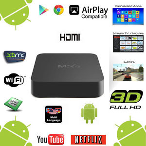 [500793 6290132558065 6290132561249 7798347810033] Tv Box MXQ Pro 4k 1gb + 8gb