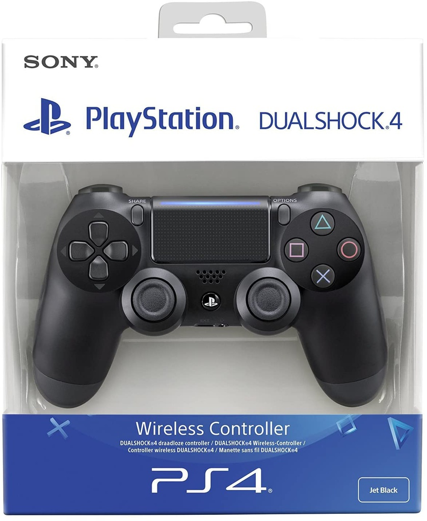 Joystick PS4 Sony Replica Negro